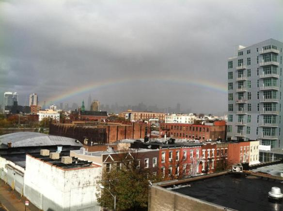 Post-Sandy rainbow