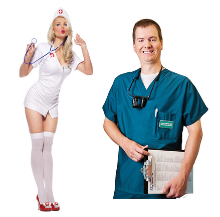 I am unsure which one of these is my real nurse