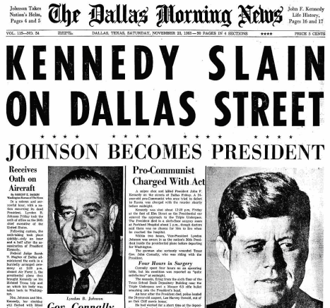 dallas-kennedy-news-11-23-63