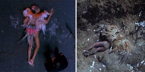Kanye's bird vs. Gaga's bird